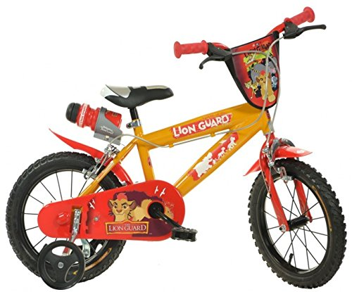 The Lion Guard 16-Zoll- Jungs Velge Bremse Orange/Rot