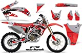 AMR Racing Graphics Kit for MX Honda CRF450R 2005-2008 WARHAWK RED