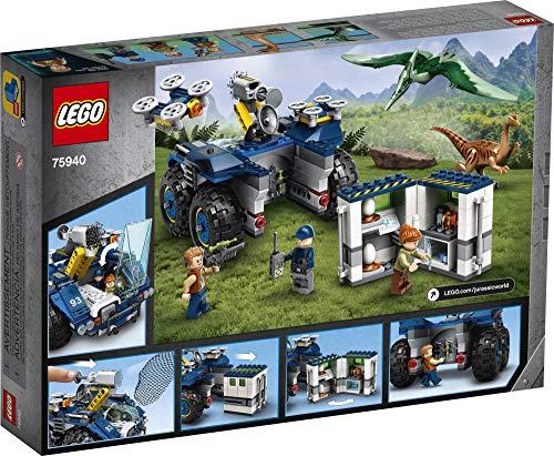 LEGO Jurassic World Gallimimus and Pteranodon Breakout 75940, Dinosaur Building Kit for Kids, Featuring Owen Grady…