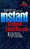 img - for Instant English Handbook by Madeline Semmelmeyer (1990-07-01) book / textbook / text book