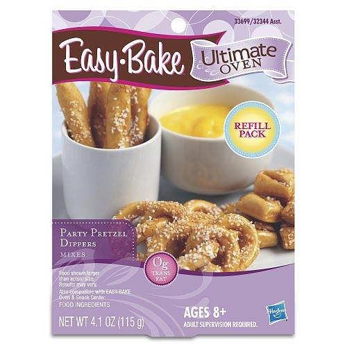 Party Pretzel Dipper Mixes - Easy Bake Ultimate Oven - Hasbro
