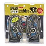 Cat's Eye Tire Pressure Maintenance System Dual Trucks Trailer 125PSI 2pk SSteel