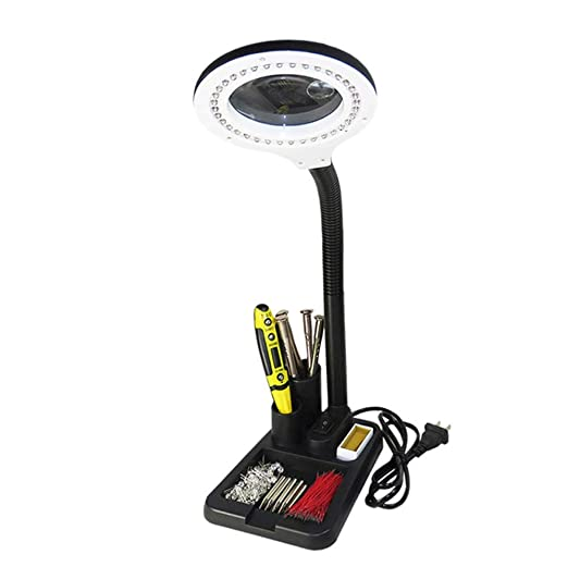 Amazon.com: Vision Assist Desktop LED Magnifier, Mobile ...