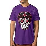 Ice Hockey WCH 2016 Team Canada Sugar Skull Men's Cotton T-shirt