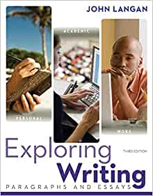 exploring writing paragraphs and essays 3rd edition answers