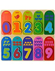 Jacootoys Wooden Puzzle Board Game Preschool Learning Educational toys for toddlers