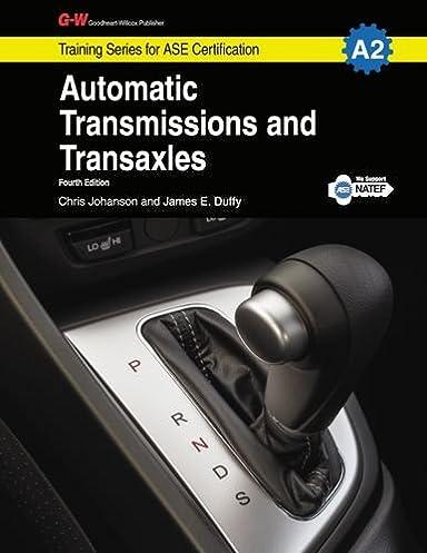 automatic transmissions transaxles a2 g w training series for rh amazon com Peerless 2300 Transaxle Peerless Transaxle Transmission