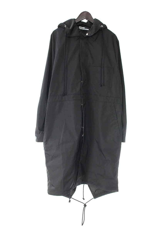 (ラフシモンズ) RAF SIMONS 【17SS】【workwear parka with print】×ロバートメイプルソープ フォトプリントモッズロングコート(46/ブラック) B07DMV2CXK