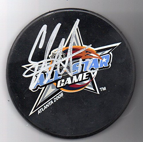 Eric Staal Autographed Puck Carolina Hurricanes 2008 All Star Game MVP