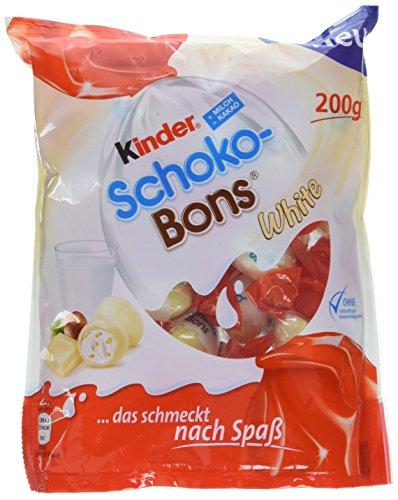 Kinder Schoko Bons White, 1er Pack (1 x 200g)