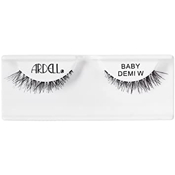 beeb6e037f7 Amazon.com : Ardell Natural Baby Demi Wispies, Black : Beauty