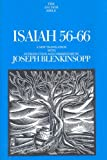 Isaiah 56-66 (The Anchor Yale Bible Commentaries)