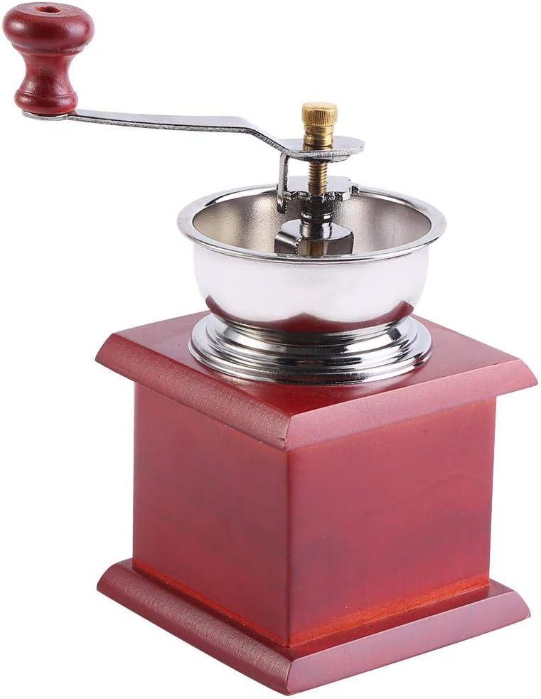 caf/é Moulin /à caf/é r/étro 1Pcs Design r/étro grain de caf/é moulin /à main Moulin manuel Accueil cuisine outil de meulage