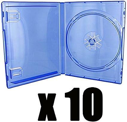 10 cajas de repuesto para juegos de PlayStation 4, azul ...