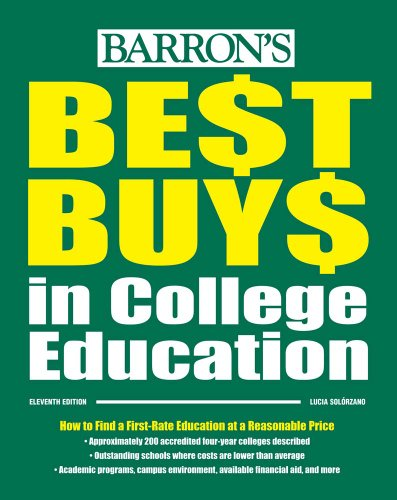 Best Buys in College Education (Barron's Best Buys in College Education)