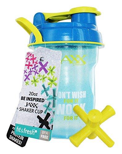 Fit & Fresh - Jaxx Glitter Shaker Cup Work For It - 20 oz.