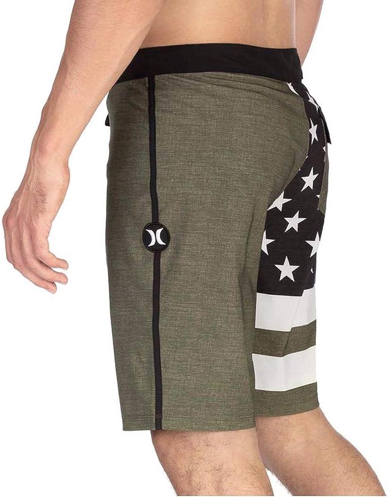 Hurley Mens Phantom Patriot Cheers USA Flag 20 Boardshort