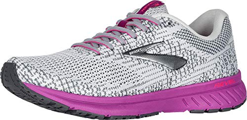 Brooks Women's Revel 3 Grey/Primer/Hollyhock 11 B US