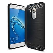 Huawei nova Plus case, ivencase Rugged Resilient Shock Absorption Slim Case Cover Fit for Huawei nova Plus ( 5.5 inch ) - Black