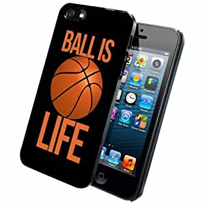 Ball is Life - Case Back Cover (iPhone 5/5s - Rubber)