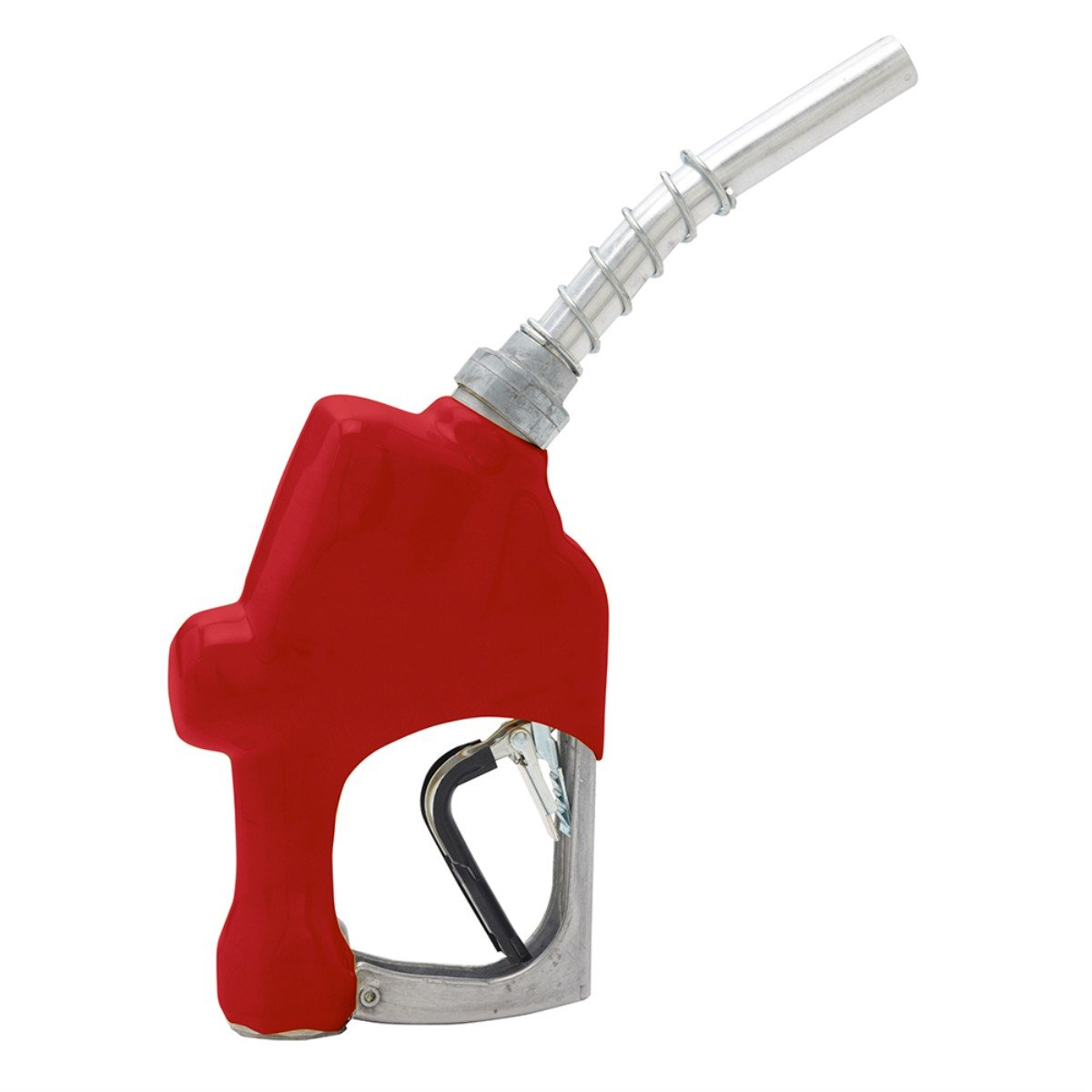 Husky 209804N-02 New 1A Unleaded Nozzle with 3-Notch Hold Open Clip and Red Hand Guard