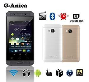 "3,5"" Phone pantalla HD smartphone Tablet Dual SIM RAM ROM 2GB 8GB móvil, color dorado"