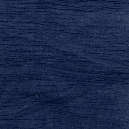"""50"""" Navy Cotton Gauze Fabric-15 Yards Wholesale By the Bolt"""