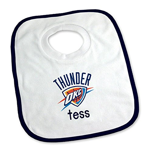 Designs by Chad and Jake Baby Personalized Oklahoma City Thunder Medium Gift Basket One Size White