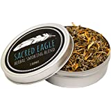 Sacred Eagle Herbal Smoking Blend with Unbleached Hemp Rolling Papers (1 oz Tin)