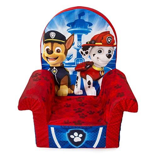 Marshmallow Furniture 6023298 Children's Foam High Back Chair, Paw Patrol