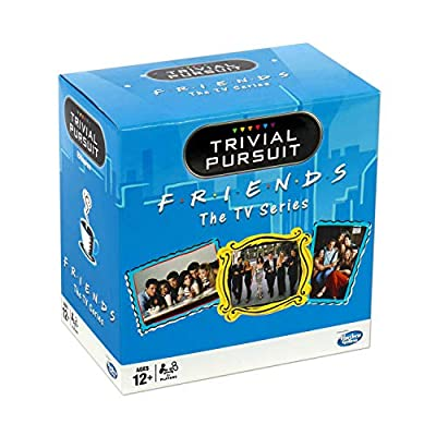 Winning Moves Friends Trivial Pursuit Quiz Game - Bitesize Edition: Toys & Games