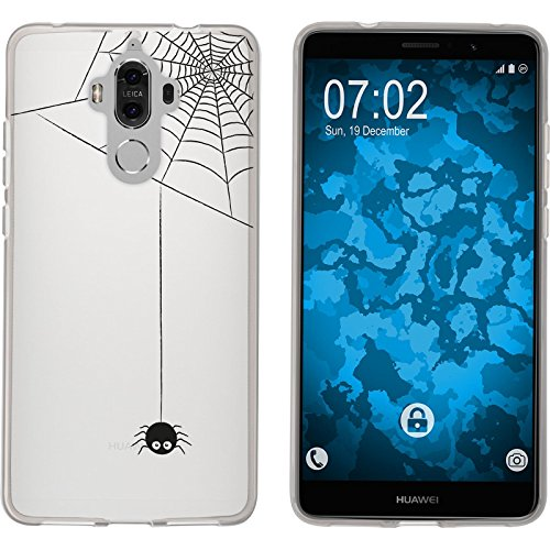 PhoneNatic Silicone Case Compatible with Huawei Mate 9 Autumn M3 Case Mate 9 + Protective foils