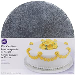 Wilton - Base redonda para tarta (30 cm, 2 unidades)