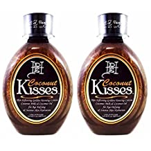 2 Ed Hardy Coconut Kisses Skin Softening Golden Indoor UV Bed Tanning Lotion by Ed Hardy