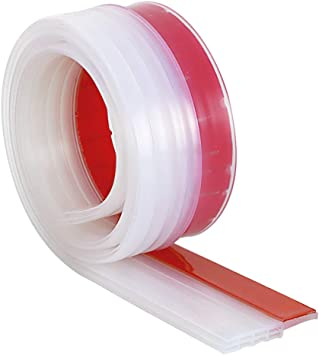 3 Colors Door Bottom Self Adhesive Weather Stripping Silicone Rubber Seal Sweep