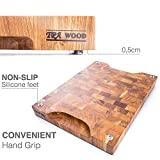 End Grain Wood cutting board - Wood Chopping