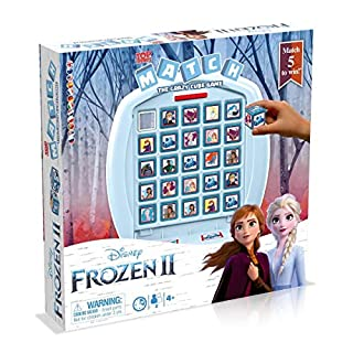 Top Trumps WM00067-ML1-6 LA Reine DES NEIGES 2 Frozen 2 Match Board Game
