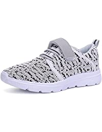 Kids Walking Shoes Lightweight Velcro Breathable Sneakers...