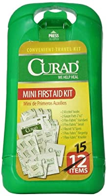 Curad Mini First Aid Kit by Curad
