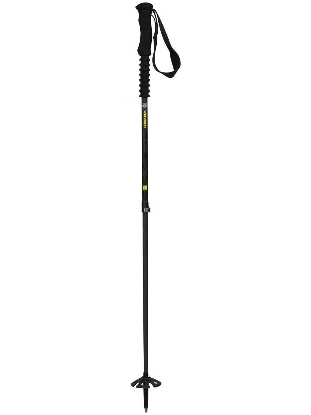 Armada Carbon T.L. Adjustable Ski Pole Black, 110 140cm