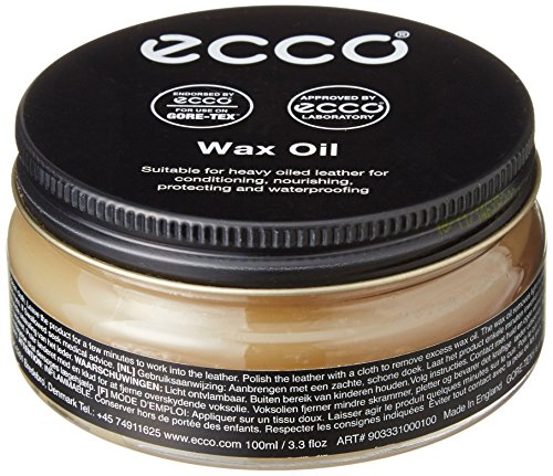 ECCO Men's Shoe Care Wax Oil, Clear, 40 EU/5 M US ()