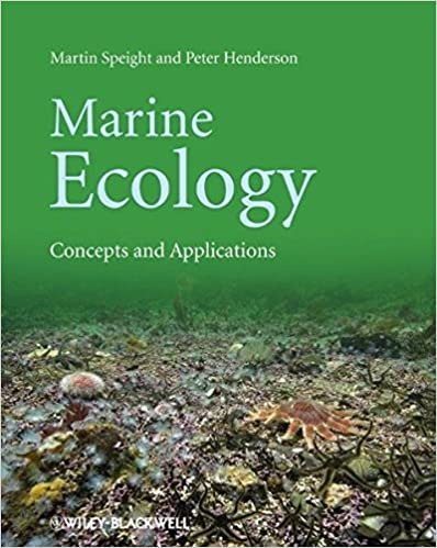 Book Marine Ecology: Concepts and Applications by Martin R. Speight (2010-05-10)