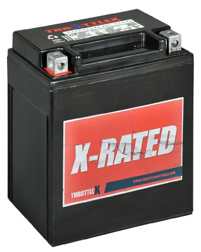 Yamaha Atv Batteries - ADX14AH-BS - AGM Replacement Power Sport Battery