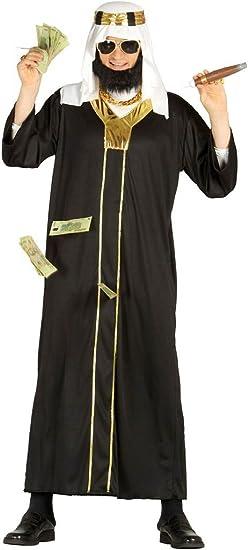 Disfraz de jeque petrodólar adulto: Amazon.es: Juguetes y juegos