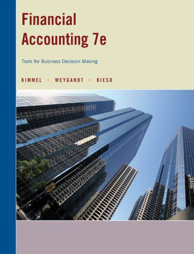 Financial Accounting (TOOLS FOR BUSINESS DECISION MAKING)