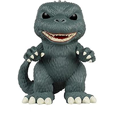 "Funko POP Movies: Godzilla - Godzilla 6"" Action Figure: Funko Pop! Movies:: Toys & Games"