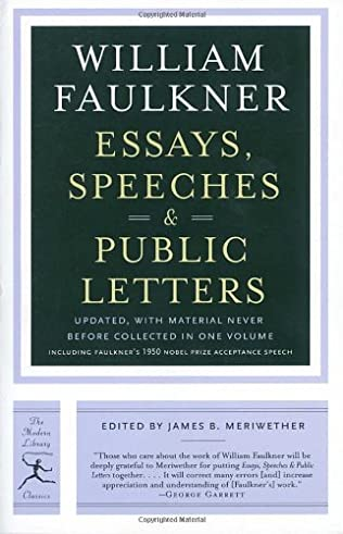 book cover of Essays, Speeches and Public Letters