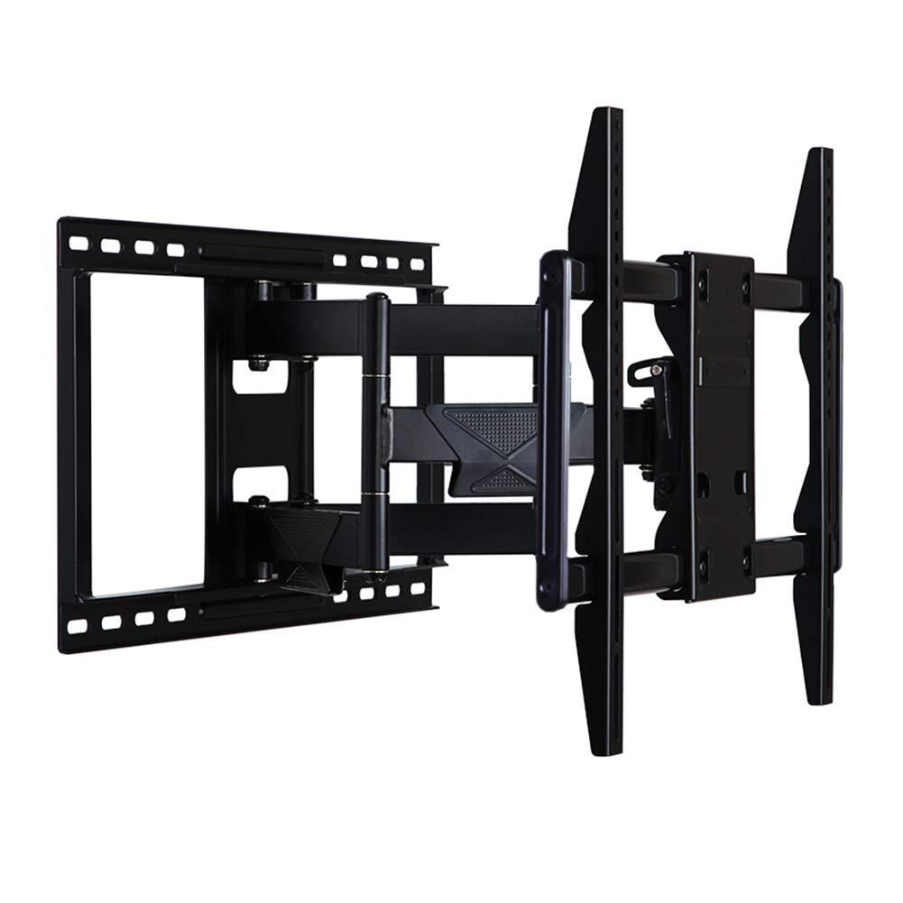 モニタースタンド モニタースタンドフラットスクリーンディスプレイテレスコピック回転チルトLCDテレビ壁掛けブラケット50-80インチ用   B07GDFNZR4