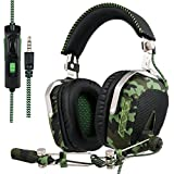 SADES SA926T Newly Updated Gaming Headset Headphones for Xbox One PS4 PC Mac ipad Laptop Computer
