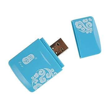 Kawau Mini USB 2.0 TF Tarjeta de Memoria SD MS Lector de ...